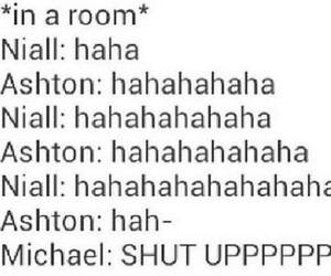 niall horan, 5sos, and michael clifford image