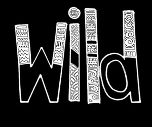 transparent, wild, and words image