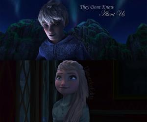 disney, frozen, and jack and elsa image