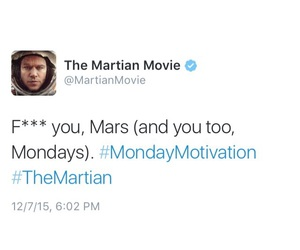 monday and the martian image