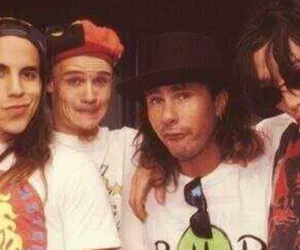 anthony keidis, flea, and red hot chili peppers image