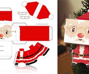 diy, christmas, and santa claus image