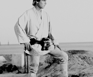 luke skywalker and star wars image