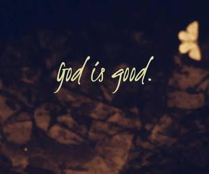 god, good, and quote image