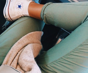 chill, converse, and girl image