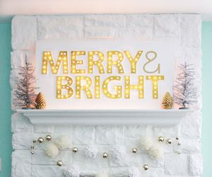 bright, christmas, and lights image