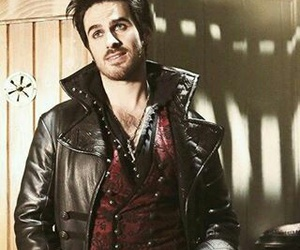 once upon a time, captain hook, and ️ouat image