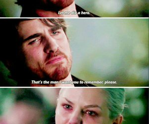 once upon a time, captain swan, and hero image