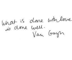 van gogh, bedankt, and lief image