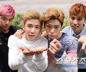high4, alex, and kpop image