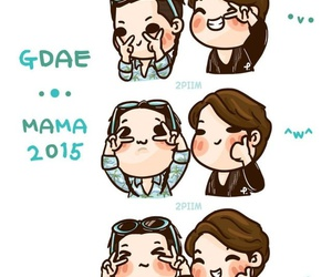 daesung, gd, and VIP image