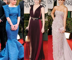 golden globes, kelly osbourne, and lea michele image