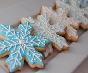 Cookies, christmas, and snowflake image