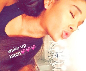 ariana grande, snapchat, and Queen image