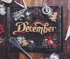 cake, christmas, and december image