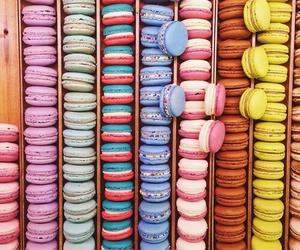 macarons, food, and macaroons image