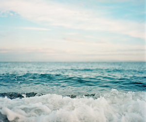 sea, summer, and ocean image