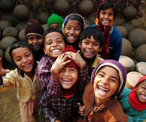 happy, kids, and smile image