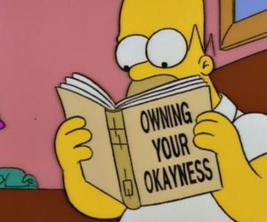 the simpsons, funny, and homer simpson image