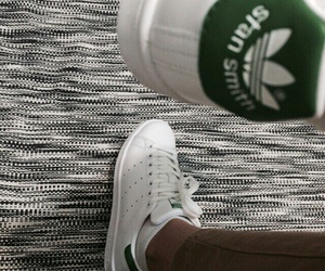 adidas, green, and white image