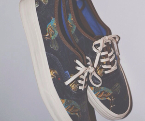 vans, shoes, and bird image