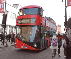 bus, camden lock, and london image