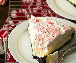 cake, candy cane, and cheesecake image