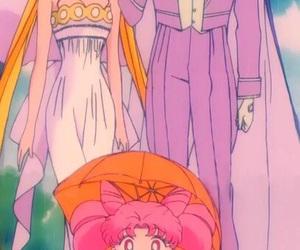 anime, sailor moon, and anime couple image