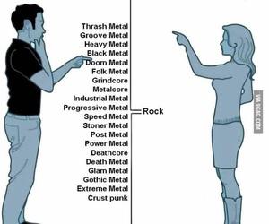 anime, rock, and metal image