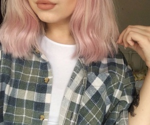 clothes, color, and dyed hair image