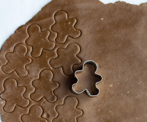 Cookies, gingerbread, and christmas image