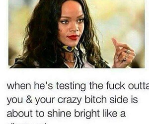 rihanna, crazy, and love image