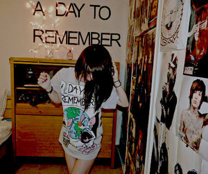 girl, a day to remember, and adtr image