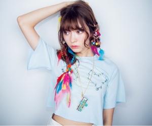 blue, japanese, and model image