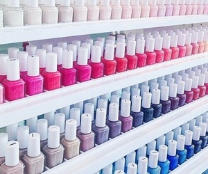 nails, essie, and nail polish image