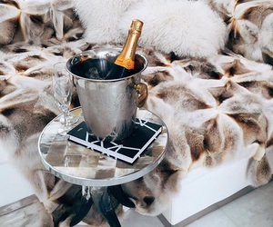 champagne, luxury, and interior image