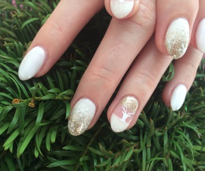 Airbrush, christmas, and gold image