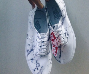 marble, vans, and shoes image