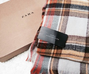 scarf, fashion, and Zara image