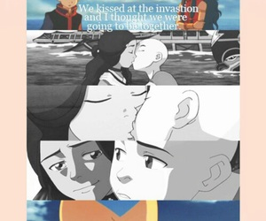 avatar, aang, and quote image