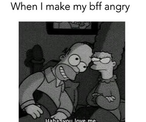love, bff, and angry image