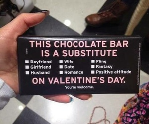 chocolate, valentine, and Valentine's Day image