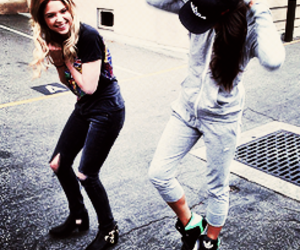 ashley benson, pll, and shay mitchell image