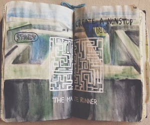 idea, maze, and runner image