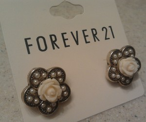 earrings, forever 21, and jewelry image
