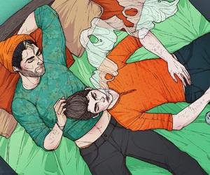 teen wolf, dylan o'brien, and derek hale image