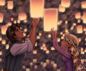 f, tangled, and moonchildinthesky image
