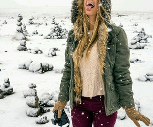 awesome, enjoy, and snow image
