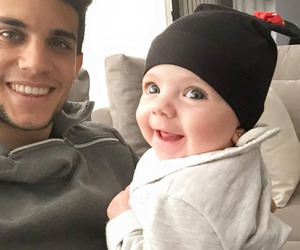 baby, Barca, and smile image