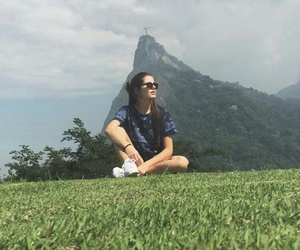 girl, hair, and riodejaneiro image
